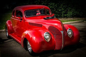 HOT ROD - 1938 FORD - FLIP FRONT END WITH BLOWER