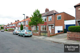 Student House Share - 5 Bedrooms in Fenham - Newcastle Upon Tyne