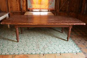 GRANDE TABLE RUSTIQUE *** ANTIQUITÉS DESCHAMBAULT *** Saguenay Saguenay-Lac-Saint-Jean image 3