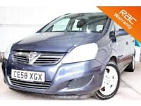 2008 58 VAUXHALL ZAFIRA 1.9 EXCLUSIV CDTI 5D AUTO 120 BHP! P/X WELCOME! 2 OWNERS