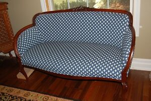 French settee in great condition, with fabric from France
