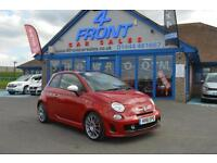 2011 ABARTH/FIAT 500 ABARTH 1.4 MULTI JET 3 DOOR MANUAL PETROL HATCHBACK HATCHBA