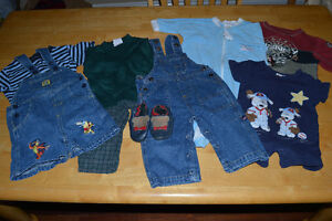 baby boy clothes for 12mos. and 24 mos.