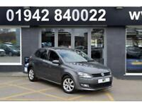 2014 14 VOLKSWAGEN POLO 1.4 MATCH EDITION DSG AUTO 83 BHP, 5DR 7SP AUTO HATCH,