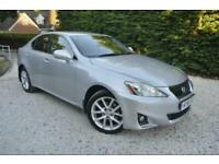 2011''61''LEXUS IS 200d 2.2TD ADVANCE ''SILVER FULL BLACK LEATHER* 1 OWNER CAR