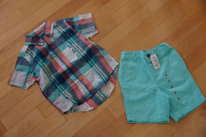Shirt and Short Set, Children's Place, Brand New with Tags