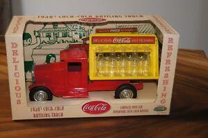 Diecast Coca cola 1930's bottling truck.