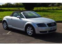 AUDI TT 1.8 T CONVERTIBLE 2dr LOW MILEAGE ONLY 46,000 MILES FSH