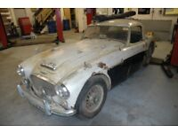 Austin Healey 100/6 or 3000 wanted for restoration.
