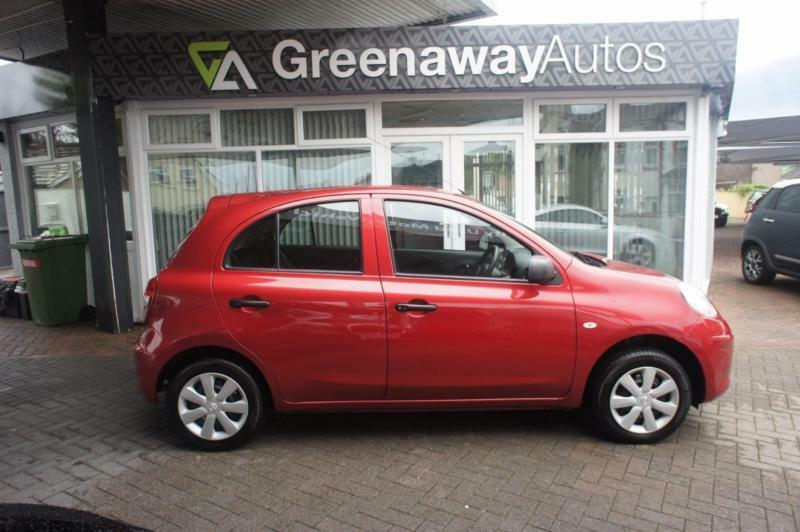 2012 NISSAN MICRA VISIA 1 OWNER FULL HISTORY