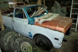 1972 Chev Pickup winter project