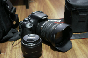 Selling canon T3i+ Canon 50mm f1.8