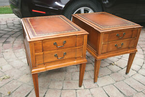 Antique Matching Side Tables
