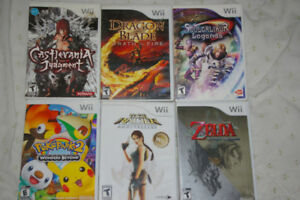 25 Wii games For sale or trade