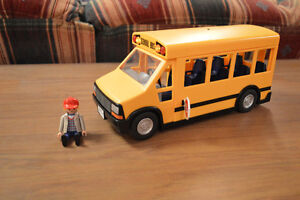 Playmobil Bus with Bus Driver
