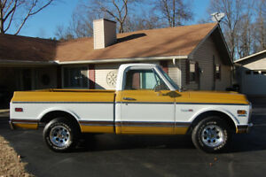 Looking for a 1967-1972 Chevrolet Half Ton Shortbed Truck C10