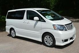 2002 TOYOTA ALPHARD 3.0 AUTO V SPEC 8 SEATER ONLY 15,000 MILES