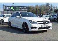 2011 11 MERCEDES-BENZ C CLASS 2.1 C220 CDI BLUEEFFICIENCY AMG/SPORT 4D AUTO 170B
