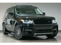 2015 Black Land Rover Range Rover 3.0TD V6 ( 258bhp ) 4X4 Auto Vogue for sale  Blackburn, Lancashire