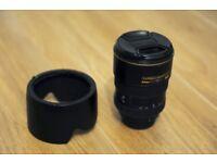 Nikon Lens 17 - 55mm, 2.8f f stop ED DX