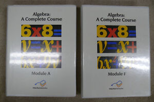 Algebra Homeschooling Curriculum Kingston Kingston Area image 1