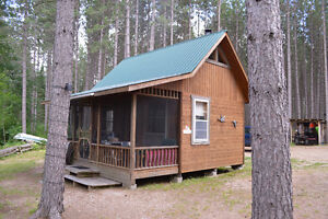 85 Acres with Sherwood River Frontage and Cabin