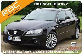 NOV 12 Seat Exeo 2.0TDI SE TECH Estate Auto -FULL SEAT HISTORY