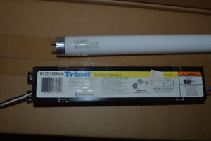 fluorescent lights and accesoreis  for sale