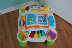 Table musicale Leap Frog