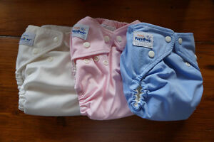 Complete Set of Cloth Diapers - Like New