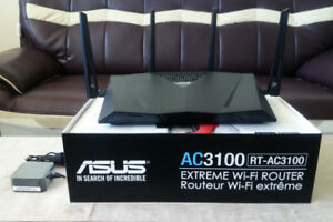 Asus AC3100 Dual Band 4x4 USB Networking Gaming 802.11ac Router