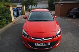 Vauxhall/Opel Astra 1.6i VVT 16v ( 115ps ) auto 2014MY SRi Red Bluetooth AUX USB