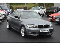 2010 BMW 1 SERIES 2.0 120D M SPORT 2D AUTO 175 BHP DIESEL