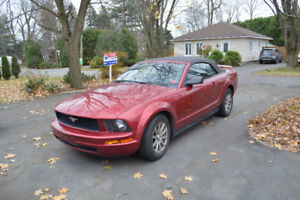 2005 Ford Mustang cuir Cabriolet