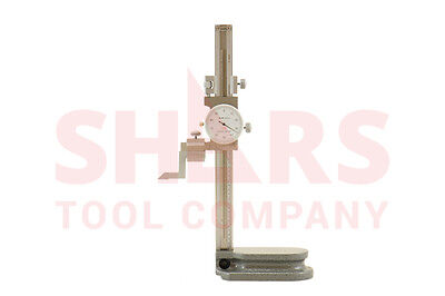 Shars 0-6 Dial Height Gage Graduation .001 New