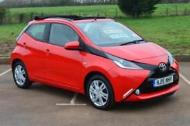 2015 TOYOTA AYGO 1.0 VVT i X Pression 5dr x shift Automatic LOW MILEAGE