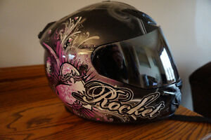 Joe Rocket Women's Size Small Motorcycle Helmet, like NEW!