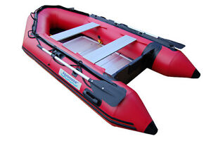 10 ft Inflatable BOAT dinghy SPORT series - RED
