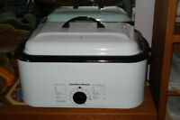 New, Never Used,     Hot Stone Heater & River Stones
