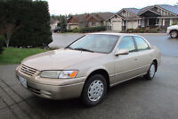 1998 Toyota Camry LE Sedan- hate to see it go!
