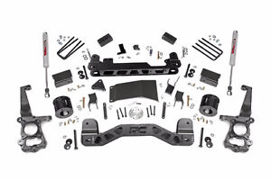 4IN FORD SUSPENSION LIFT KIT (15-17 F-150 4WD) Rough Country NEW