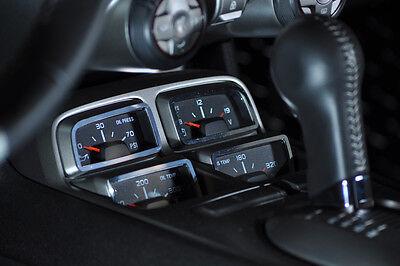 ACC 2010-2012 Chevy Camaro Chrome Gauge Cluster Dash Auto Trim Surround Show Kit