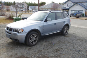 BMW X3 2006 only 120k, full options