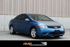 2006 Honda Civic LX Coupe - LOW KMS - CERTIFIED - 3 YR WARRANTY