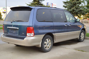 2002 Kia Sedona that needs new transmission.
