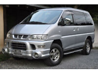 MITSUBISHI DELICA ACTIVE FIELD LTD ( LAST OF THIS SHAPE) 42000MILES
