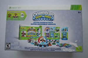 SKYLANDERS SWAPFORCE SUPER BUNDLE PACK XB360