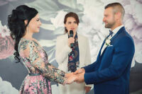 Marriage registration, Wedding Officiant $150