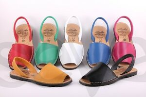 Ladies-Leather-Flat-Open-Toed-Sandal-Made-in-Spain-9-colours