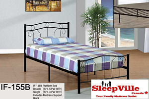 SINGLE BEDS STARTING @ $129 - FREE SAME DAY DELIVERY & SETUP